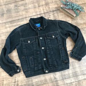 Max Active Vintage Black Denim Jacket